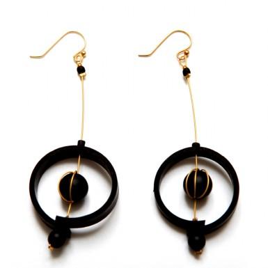 Nucleus earrings